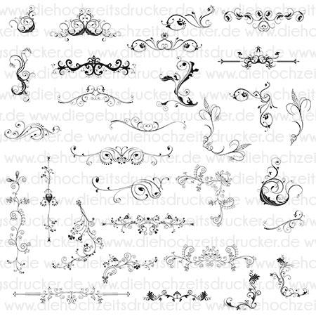Cliparts Ornamente