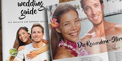 Hochzeit goldene deckblatt hochzeitszeitung Festzeitschrift zur