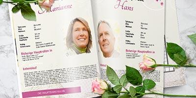 Goldene vorlage hochzeitszeitung hochzeit 3 Hochzeitszeitung