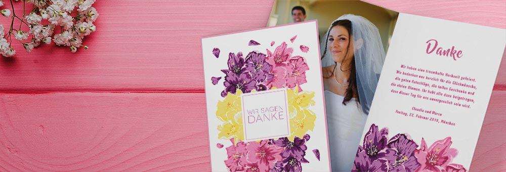 Hochzeitskarten zur Hochzeit
